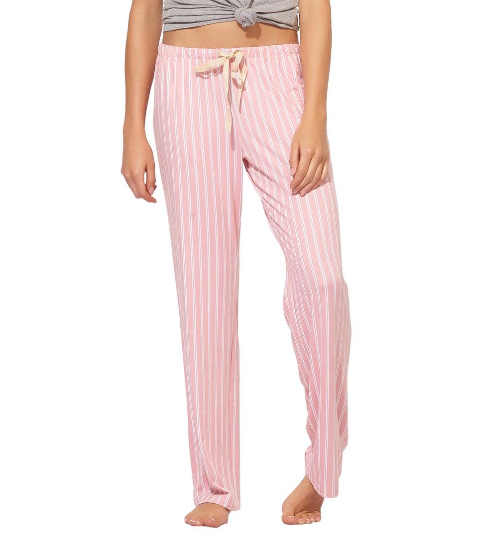Blanche Pant in BRIDAL ROSE STRIPE