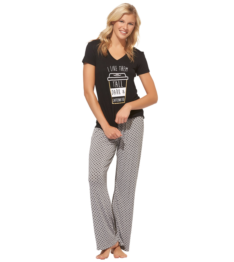 Danika Pant Set in TALL DARK CAFFEINATEDD