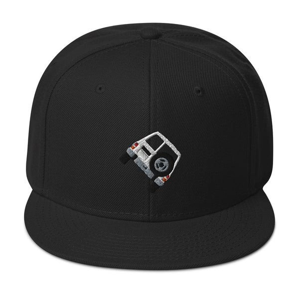 'Two Wheels' Snapback Hat