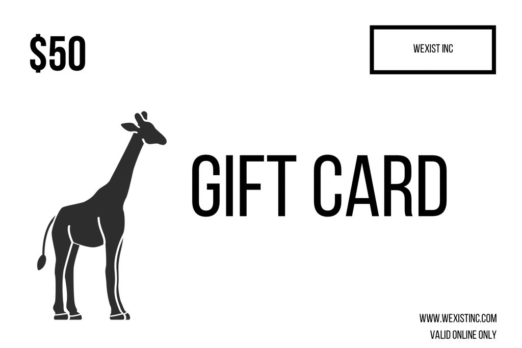 WEXIST GIFT CARD
