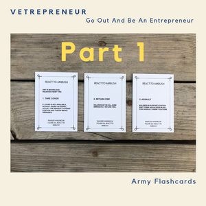 Vetrepreneur: Go Out And Be An Entrepreneur Part 1