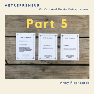 Vetrepreneur: Go Out And Be An Entrepreneur Part 5