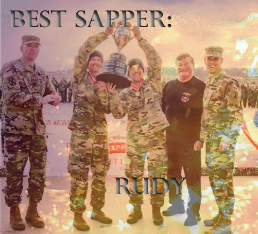 Interview with the 2018 Best Sapper Competition Winner: Rudy Chelednik