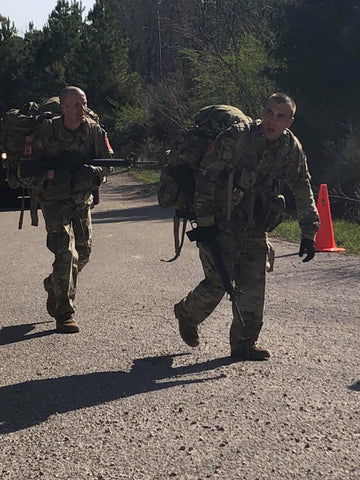 Best Sapper Competition Ruck March