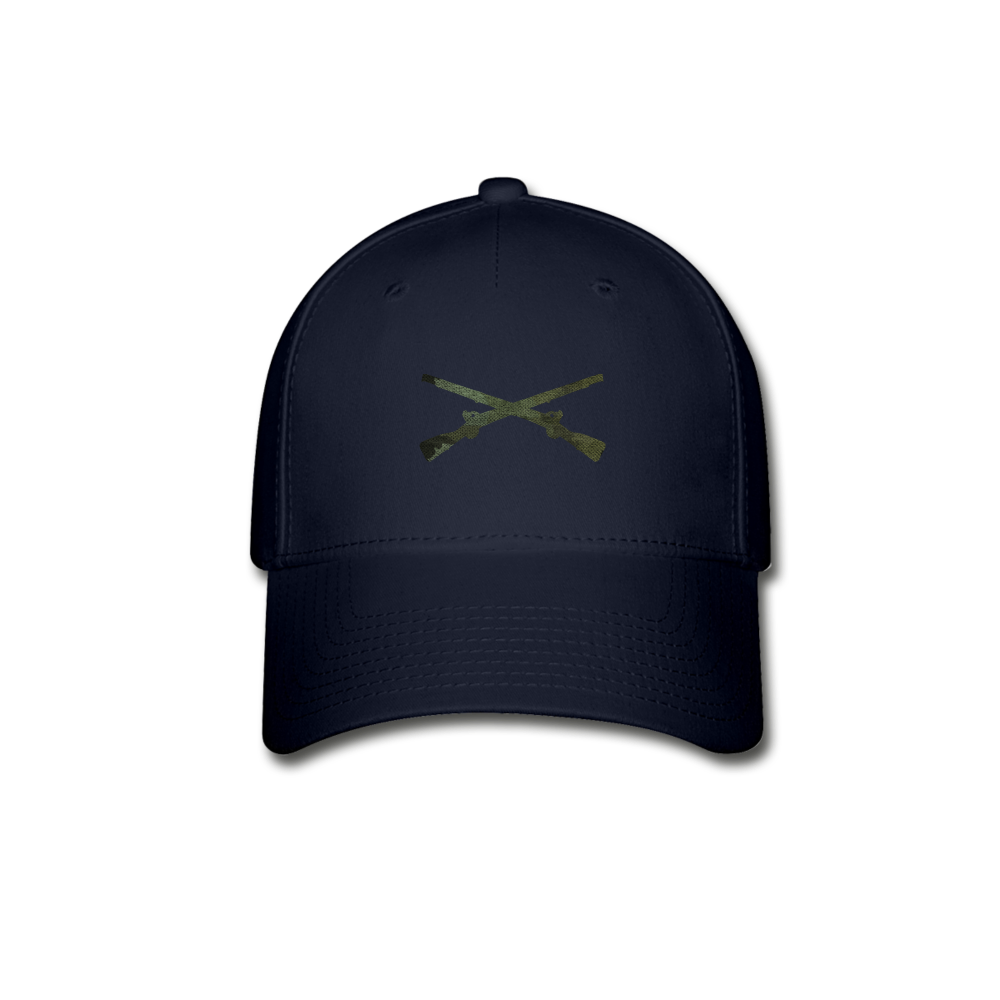 Infantry Blue Baseball Cap - navy
