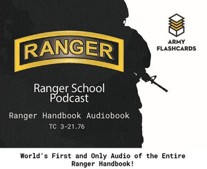 Ranger Handbook Audiobook - Army Flashcards