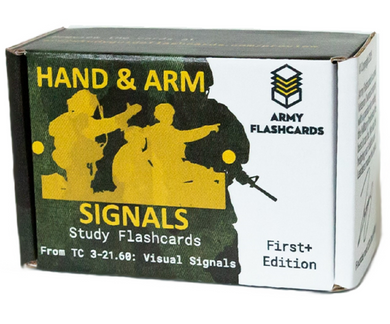Military Hand and Arm Signals Flashcards | TC 3-21.60