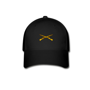 Infantry Baseball Cap - black