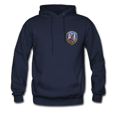Fort Lee Fire & Emergency Services Hoodie - navy