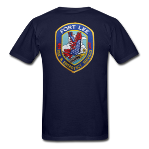 Fort Lee Fire & Emergency Services T-shirt - navy