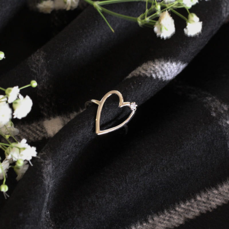 Heart Sparkle Ring