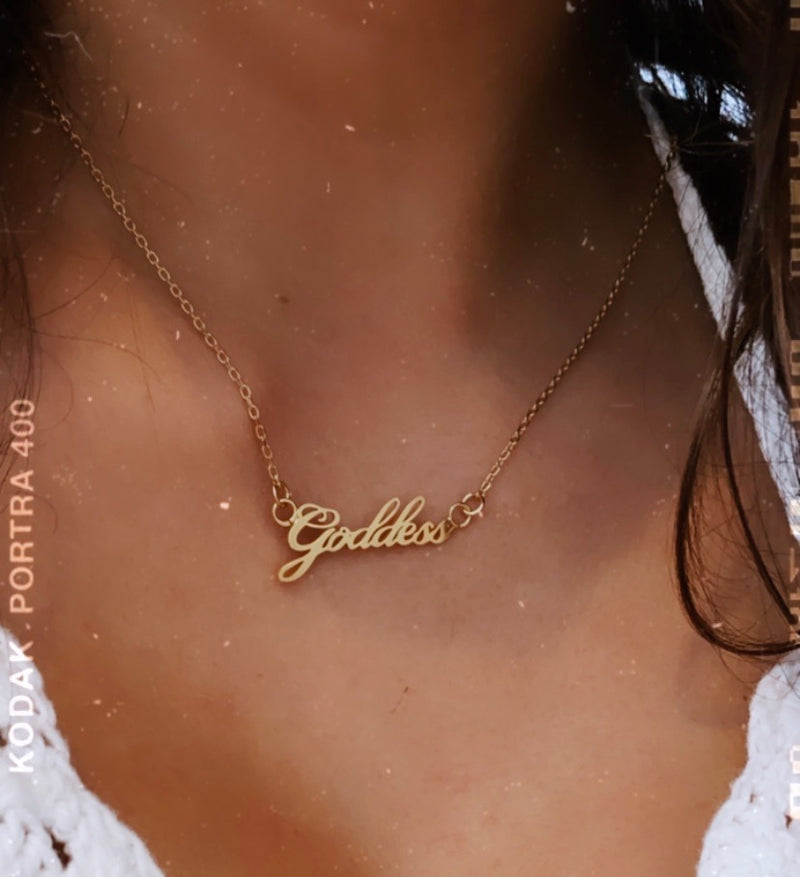 Goddess Necklace - Sugar Rose