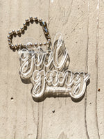 Girl Gang Key Chain - Sugar Rose