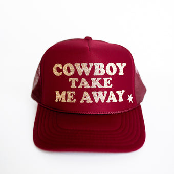 Cowboy Take Me Away Trucker