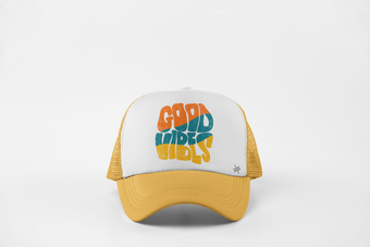 70s GOOD VIBES Trucker