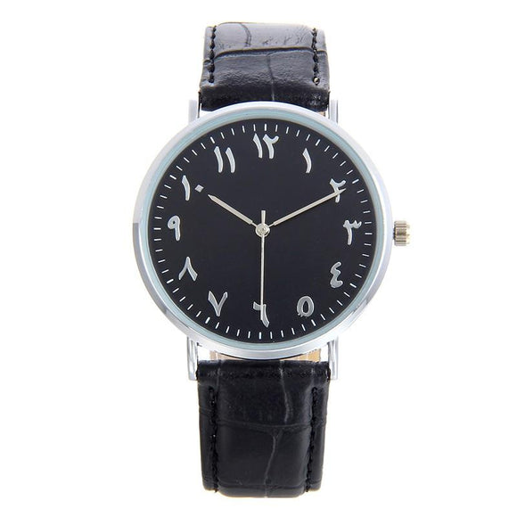 Noir - Arabic Dial Watch - 2 Styles