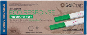 Eco Response Biodegradable Pregnancy Test (2-Pack)
