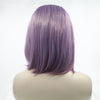 Image of 12''Lace Front Bob Purple Wig - Bravozone