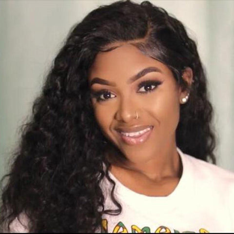 Lace Wigs Deep Wave Hair Lace Wig - Bravozone