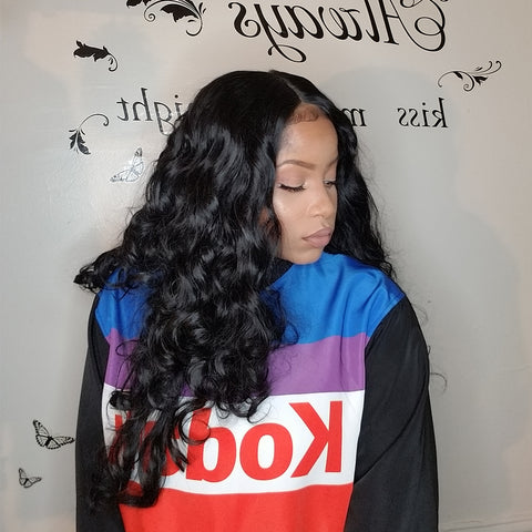 Lace Front Wigs PRE Plucke Body Wave With Babyhair - Bravozone