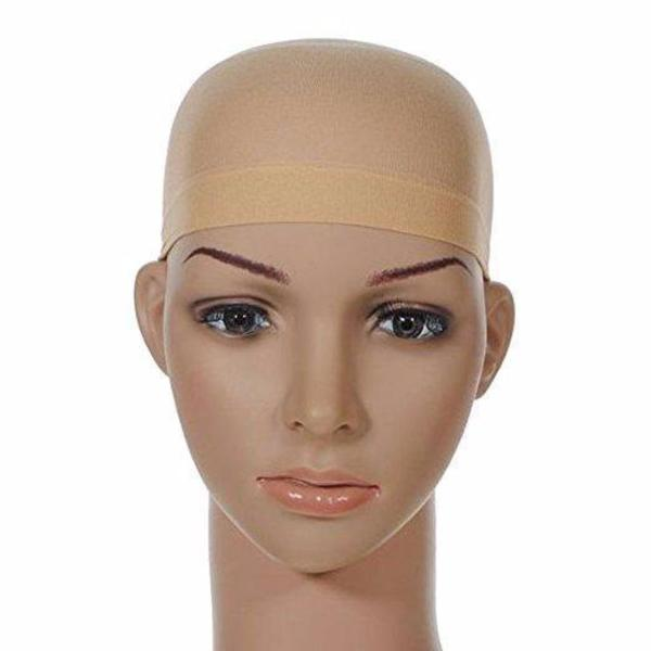 High Quality Unisex Stocking Wig Cap Snood Mesh Natural Nude Beige Wig Caps - Bravozone