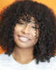 Image of Lace Wigs Curly Hair Wigs for Black Woman - Bravozone