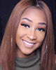 Image of Lace Wigs Dark Brown Lace Front Silky Wig - Bravozone