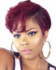Image of Lace Wigs Frontal Lace Cut Short Bob Wig - Bravozone
