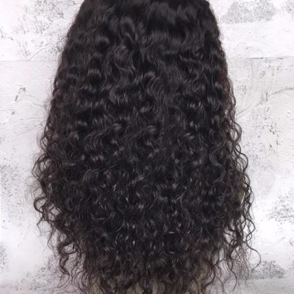 "14"" to 22"" Deep Curly Lace Hair Wig - Bravozone"