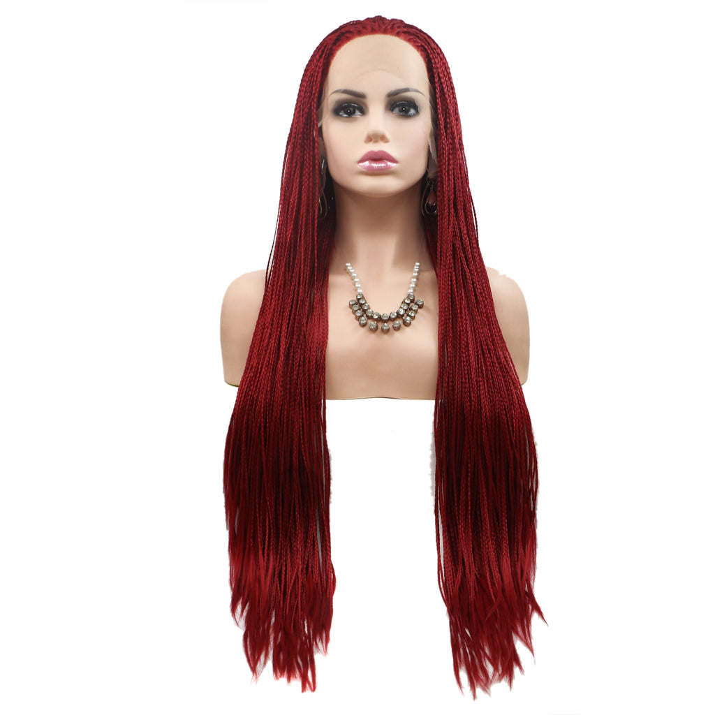 Braided Wig Lace Frontal for Women - Bravozone