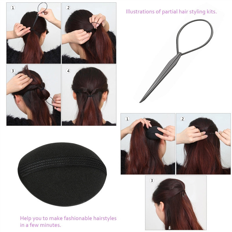 DIY Hair Styling Accessories Kit Set - Bravozone