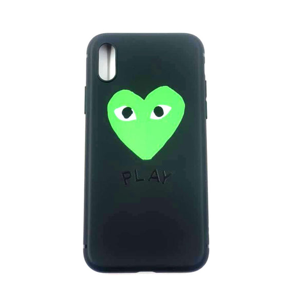 Coque Iphone X / Xs Play Silicone Souple noir