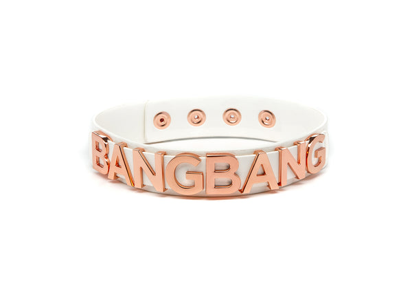 BANGBANG COLLAR IVORY & GOLD ROSÉ - Accessories
