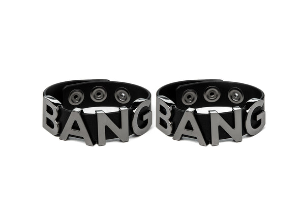 BANGBANG BRACELET BLACK & GUNMETAL - Accessories