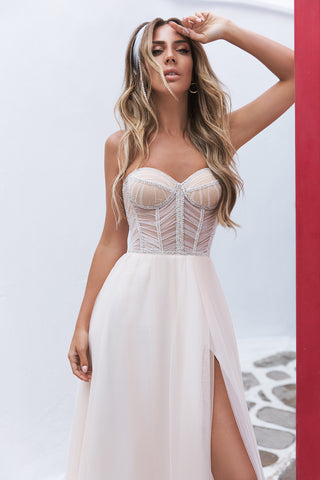WHITE MYKONOS LUXURY WEDDING DRESSES