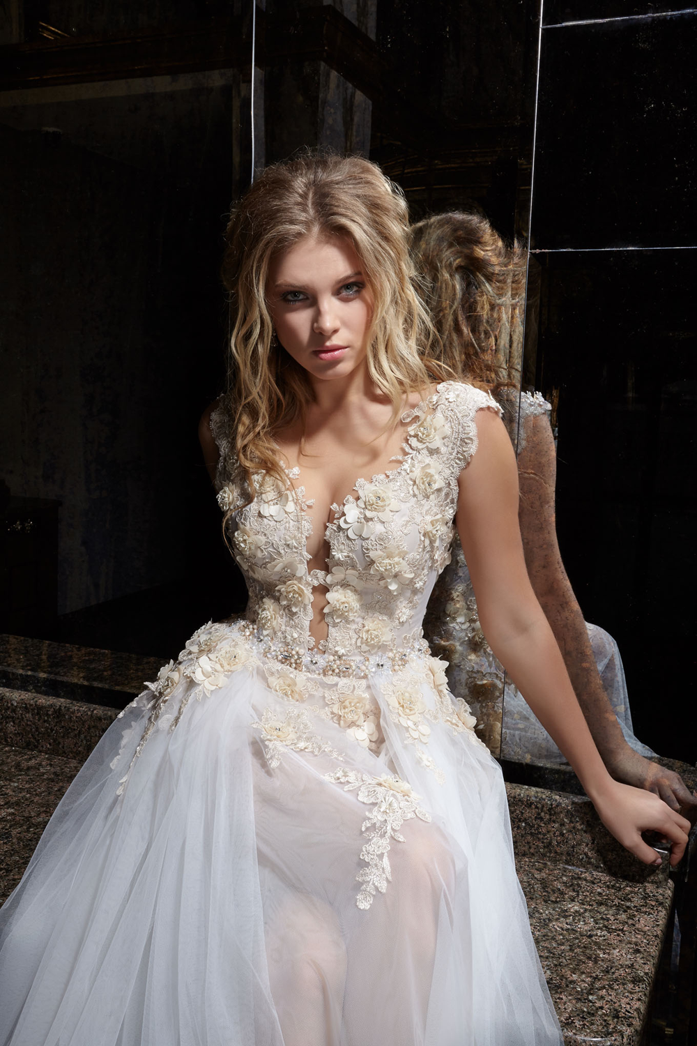 KC Haute Couture Blog  with transforming skirt wedding dress