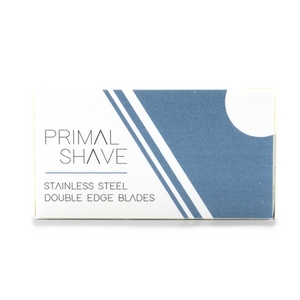 Primal Shave Stainless Steel Safety Razor Blades