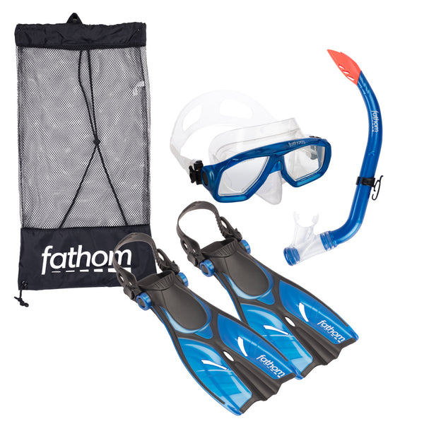 Aruba Junior Mask, Snorkel And Fin Combo