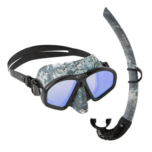 Baja Adult Mask And Snorkel Combo