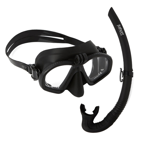 Azul Adult Mask And Snorkel Combo