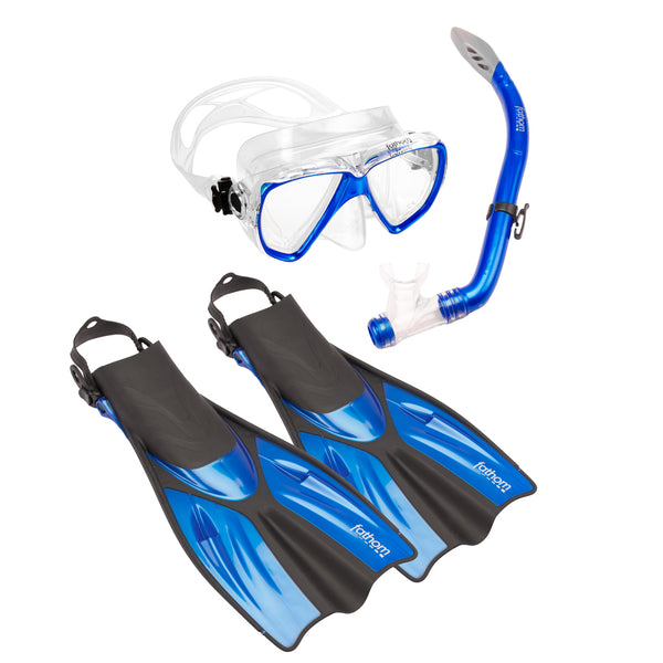 Los Cabos Mask, Snorkel And Fin Combo
