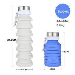 Portable Retractable Water Bottle