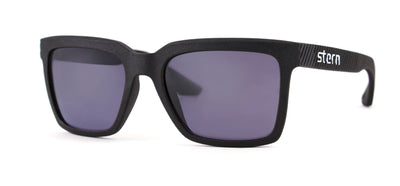 Polarized sunglasses with grey tint that blocks out harmful UV420 rays. Sunglasses are made in the USA through laser fusion 3D printing.