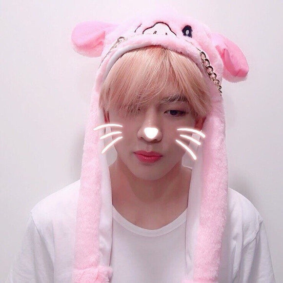 BTS Style 'Cute Animal' Hat - Totally Kpop