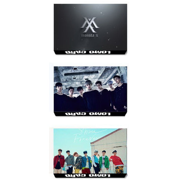 MONSTA X 'Members' Photocards (Set of 30) - Totally Kpop