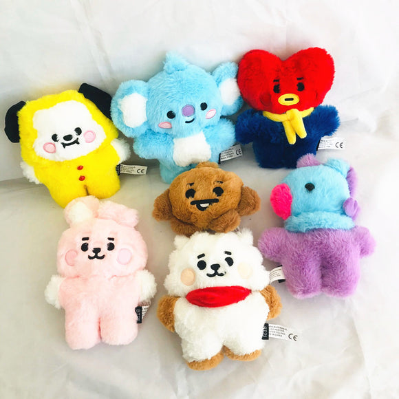 BTS BT21 'Mini Fuzzy' Plushie - Totally Kpop