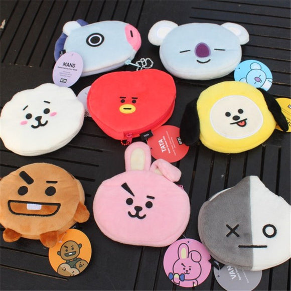 BT21 'Character' Coin Purse - Totally Kpop