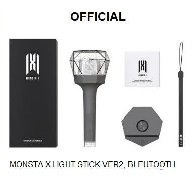 [OFFICIAL] Monsta X Light Stick V2 - Totally Kpop