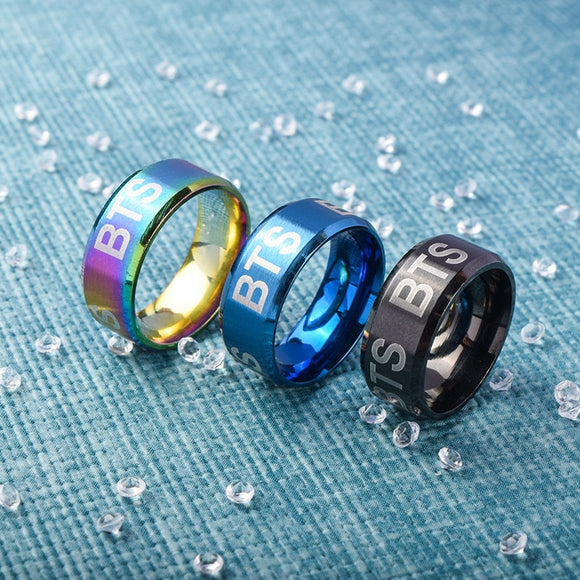 BTS 'Multicolored' Ring - Totally Kpop