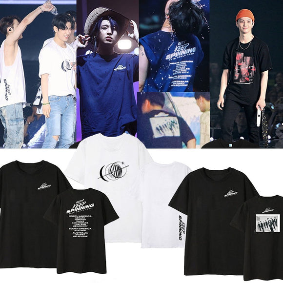 GOT7 'KEEP SPINNING' Concert T-Shirt - Totally Kpop
